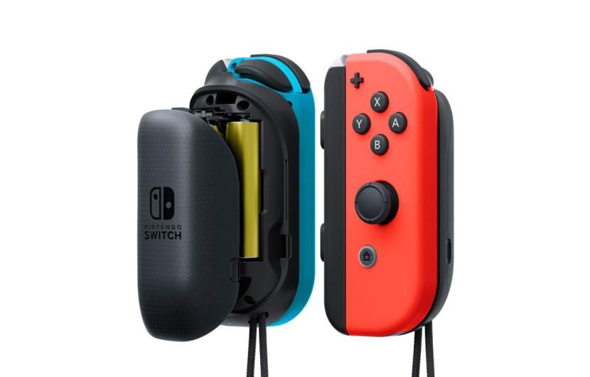 Nintendo Joy-Con bekommen gelbe Edition und Batterie-Pack