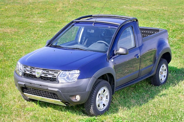 dacia duster pickup is what the world needs now. Black Bedroom Furniture Sets. Home Design Ideas