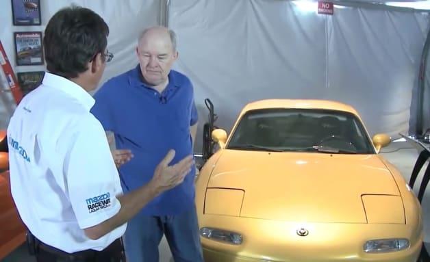 Mazda MX-5 Miata history with Dean Case and Bob Hall