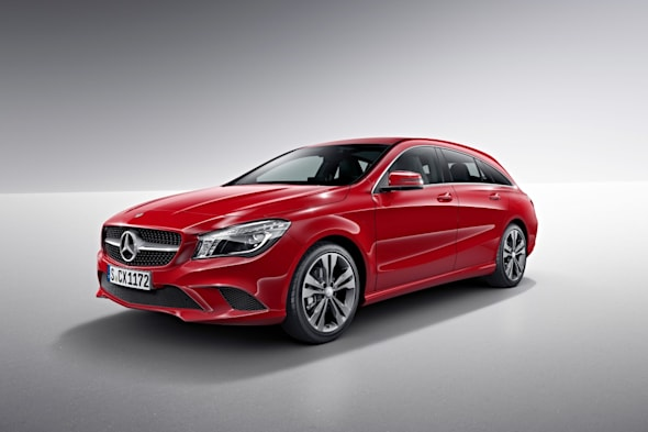 Mercedes-Benz CLA Shooting Brake (X117) 2014, jupiterrot, StudioMercedes-Benz CLA Shooting Brake (X117) 2014, jupiter red, studio