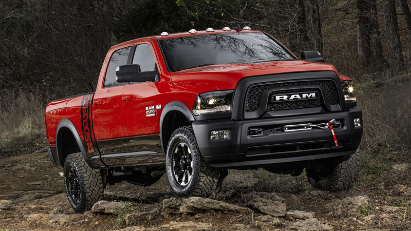 2017 Ram Power Wagon update adds menacing new look