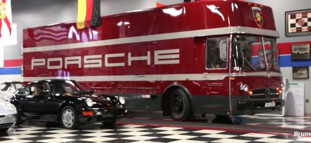 Mercedes-Benz Porsche Transporter
