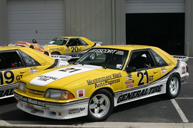 1988 Ford Mustang Saleen 21R General Tire racecar auction