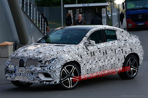 Mercedes-Benz MLC Spy Shots