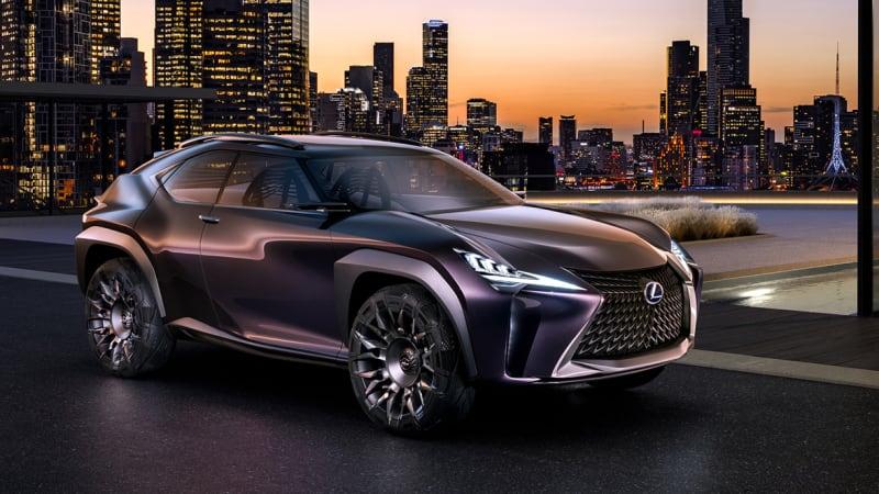 Lexus UX Concept represents a bold crossover future