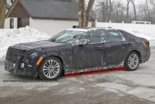 Cadillac El Miraj RWD flagship spy shots