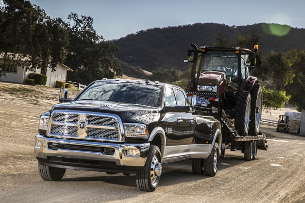 Ram Trucks Tow Ratings