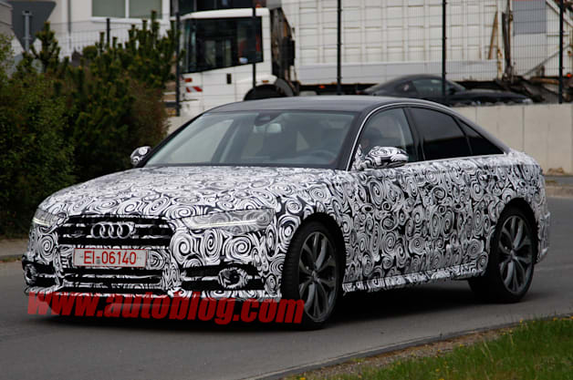 Audi prepping minor refresh for S6