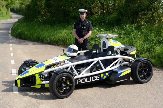 Ariel Atom PL1 Police Car