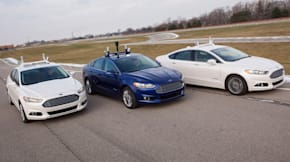 Ford Fusion autonomous hybrid