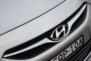 2014 Hyundai i40 Tourer grille