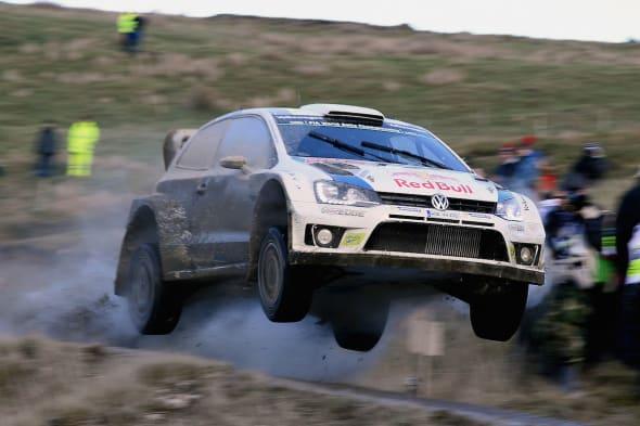 Jari-Matti Latvala (FIN), Miikka Anttila (FIN)Volkswagen Polo R WRC (2014)WRC Rally Great Britain (Wales) 2014