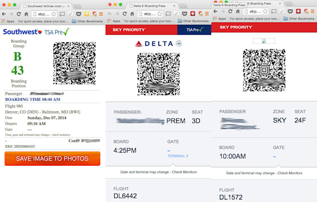 Security flaw lets Delta passengers access other people's boarding passes