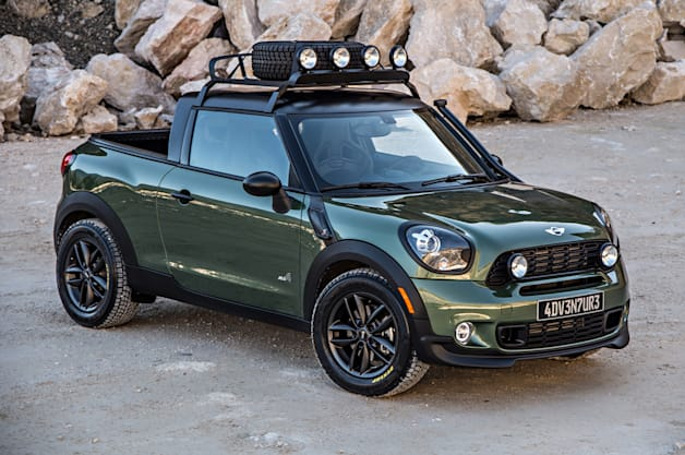 Mini Paceman Adventure Photos Arrive By The Trucklette Load