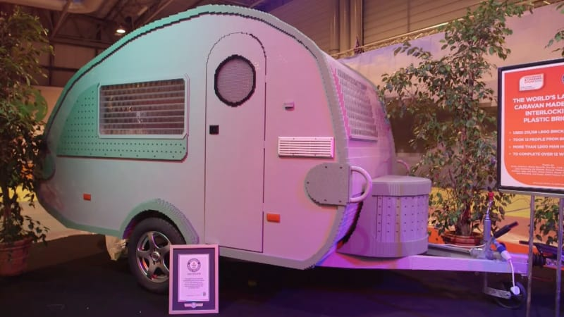 Guinness Record Lego Model Is A Life Size Rv Autoblog