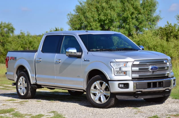 2015 Ford F-150 to get up to 26 miles per gallon