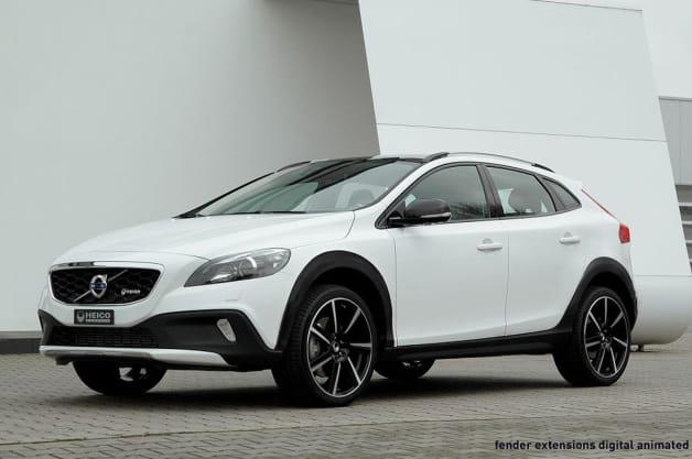 Heico jacks up Volvo V40 Cross Country to create XC40