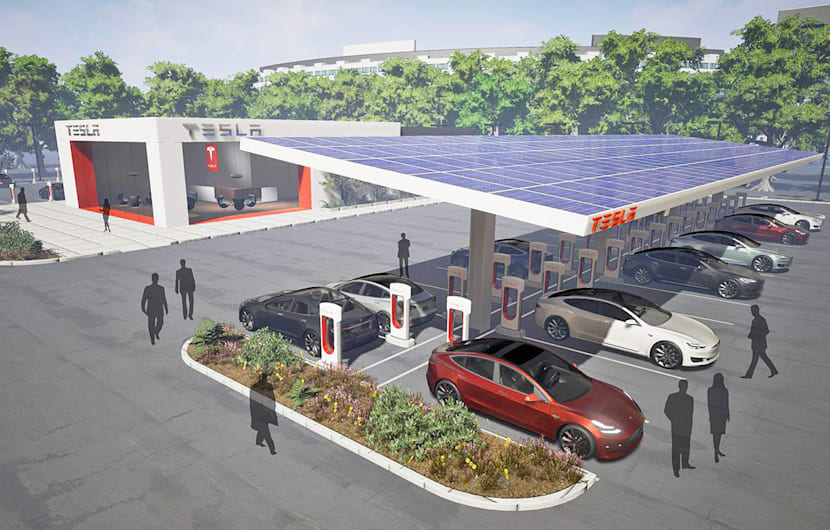 tesla will supercharger ladestationen f r andere autos ffnen engadget deutschland. Black Bedroom Furniture Sets. Home Design Ideas