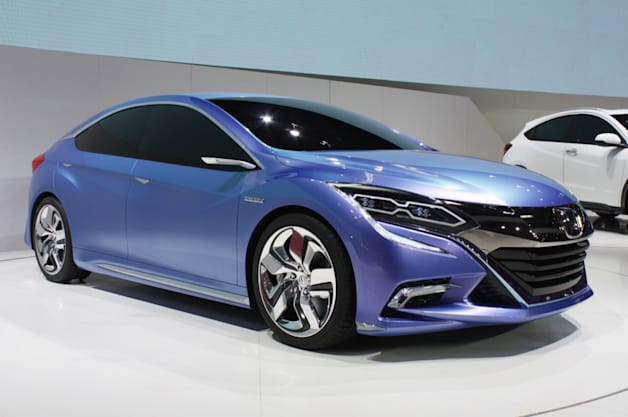 Honda Concept B Hybrid production version coming to China in 2016