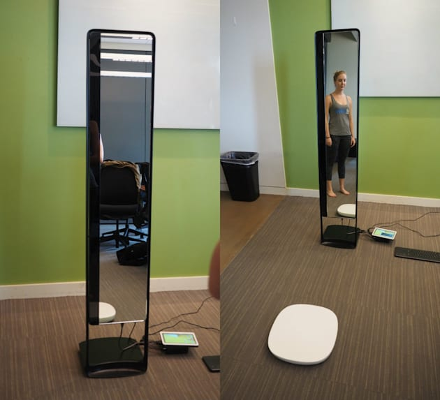 These entrepreneurs invented a futuristic magic mirror
