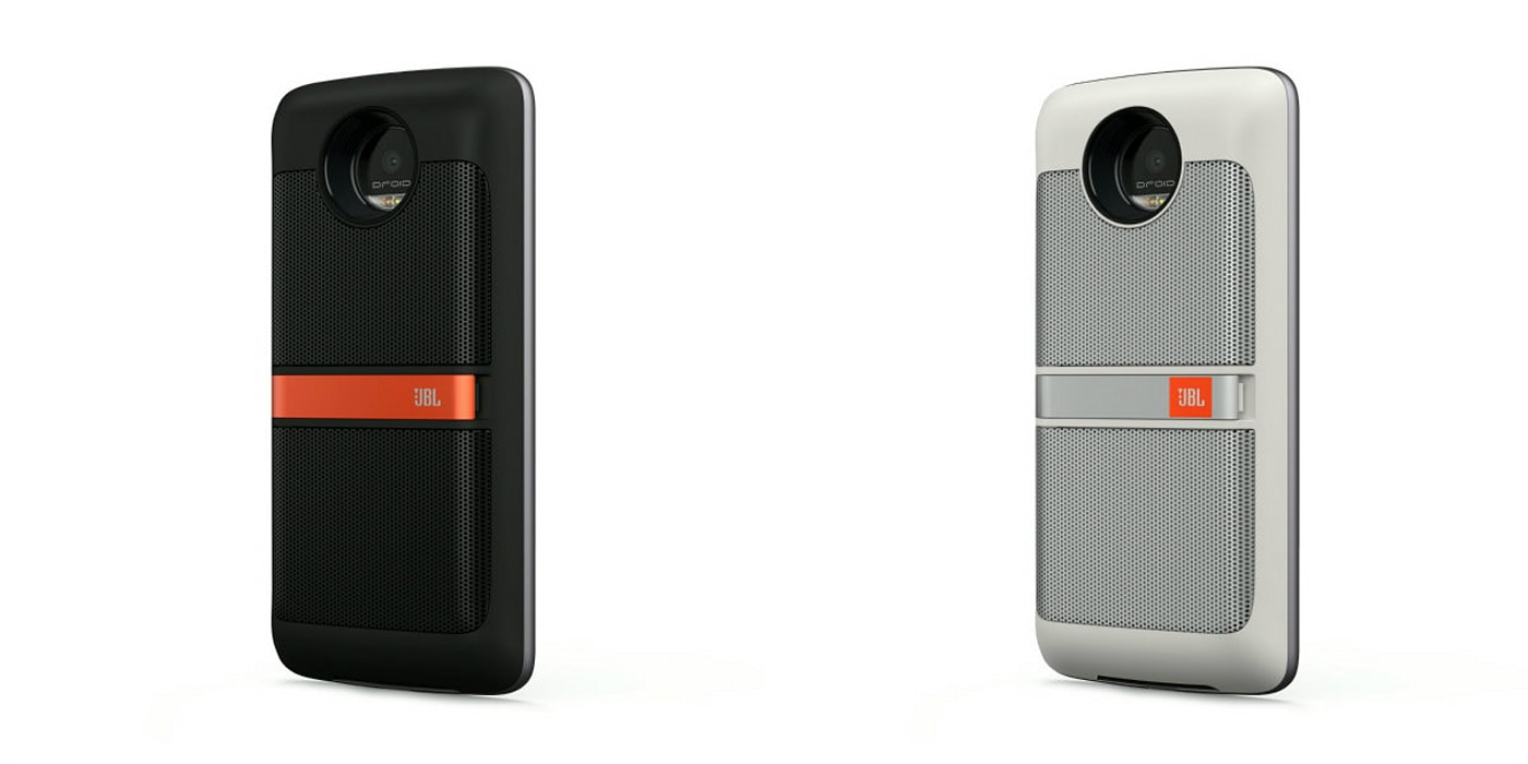 Snap-on 'MotoMods' make the Moto Z more interesting