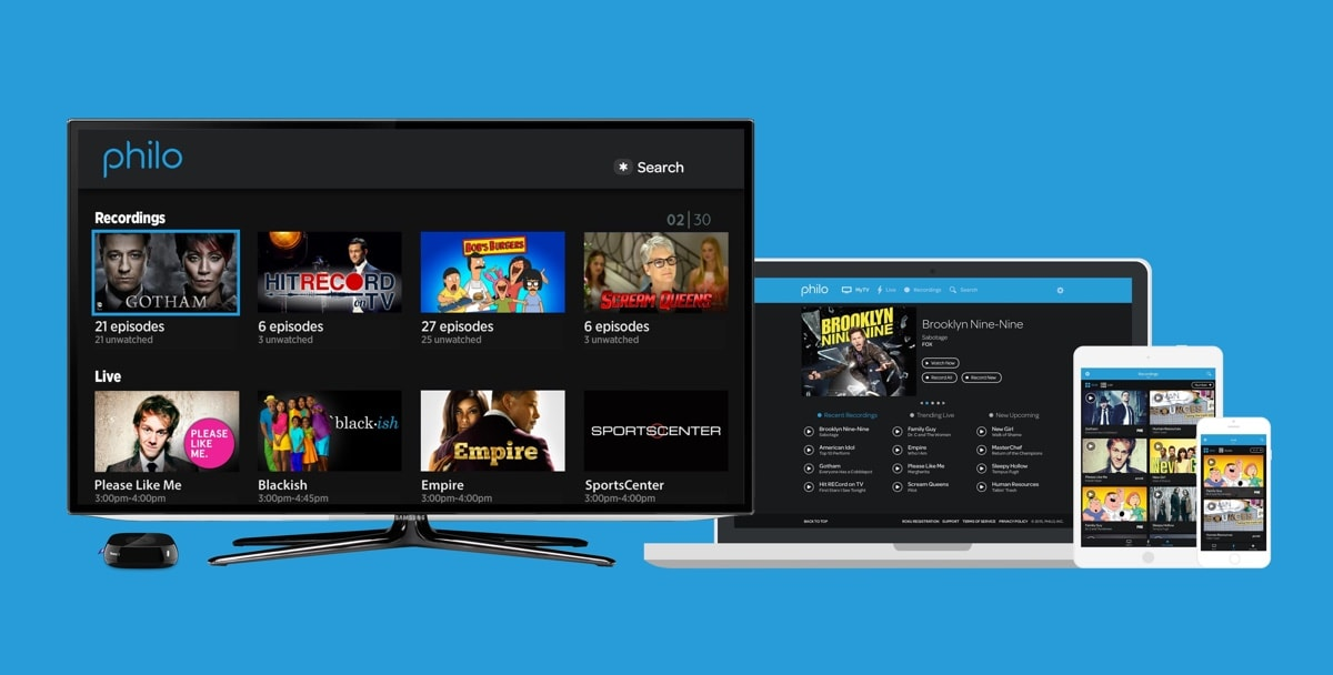 Philo's streaming TV platform now covers over 40 universities