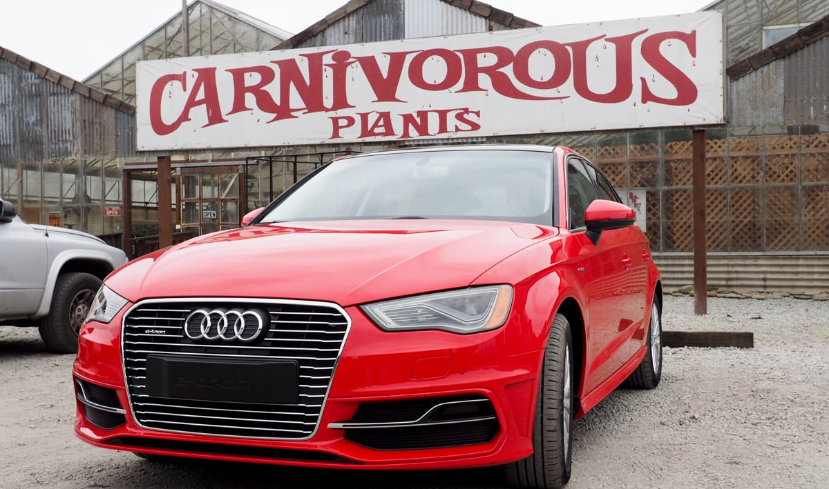 Test-driving Audi's new A3 e-tron plug-in hybrid