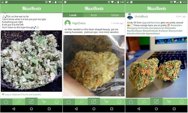 What Instagram did for brunch, MassRoots hopes to do for weed