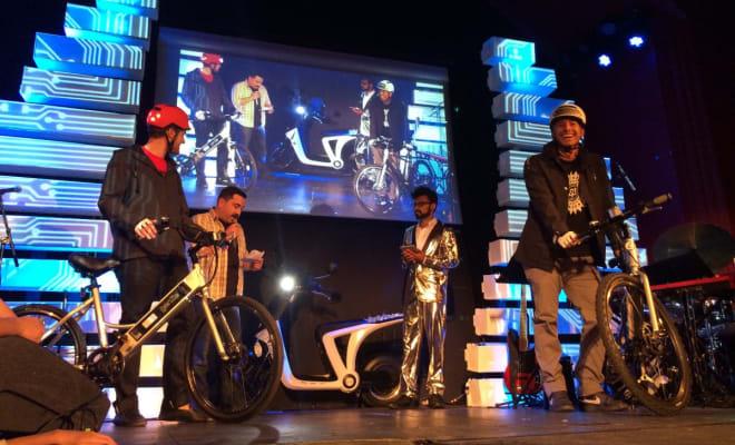 genze e-bike silicon valley fashion week