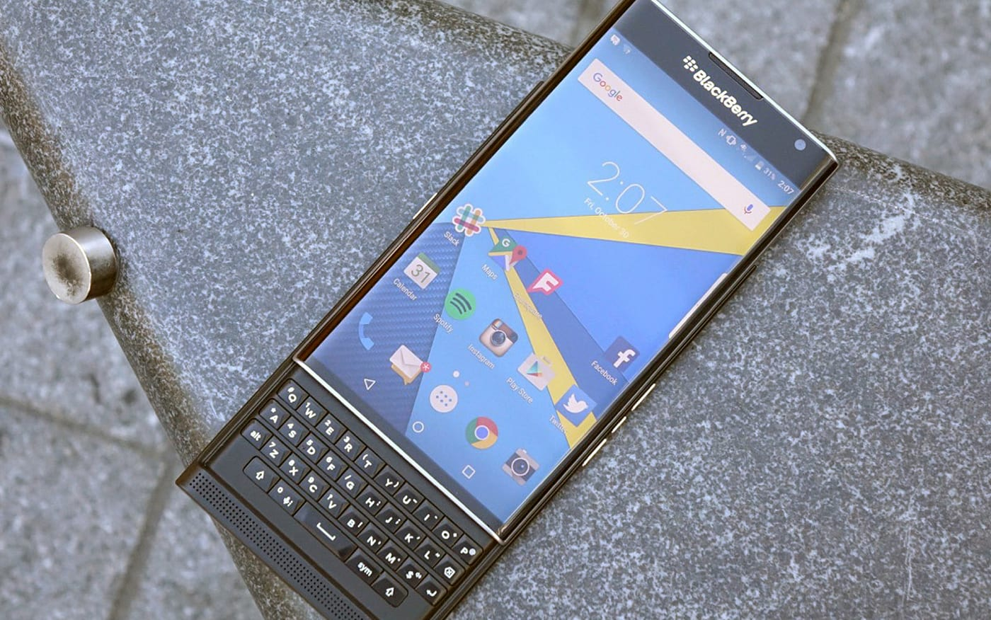 BlackBerry's dumping BB10 for Android in 2016