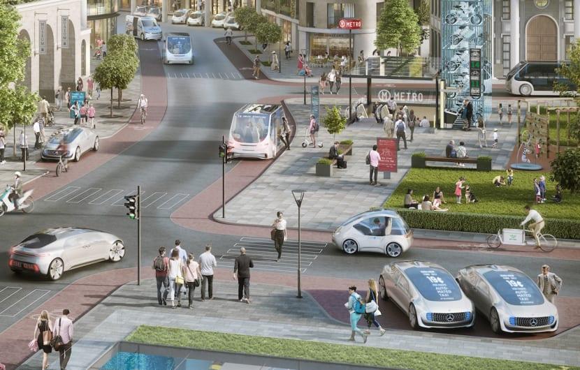 Bosch testet mit Daimler ab 2018 selbstfahrende Taxis