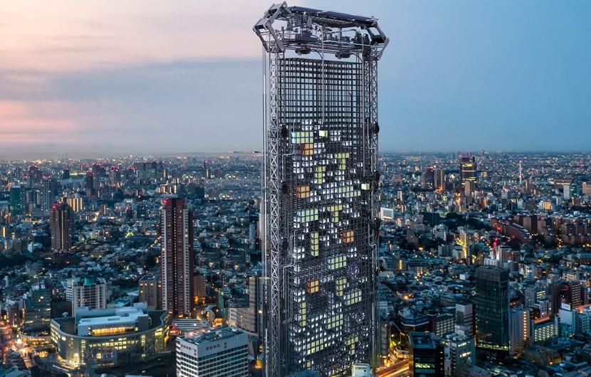 Tokyo Pod Vending Machine: Architekt träumt von Tetris