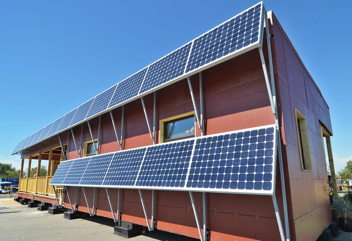 tiny solar powered homes