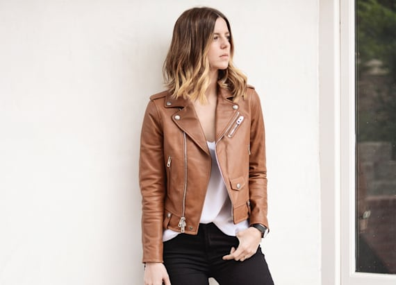 Street style tip of the day: Camel tones