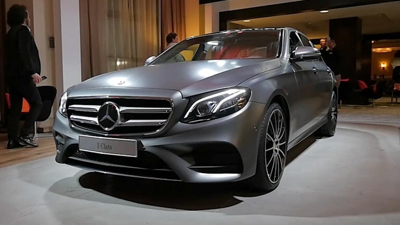 2017 mercedes benz e class arrives in detroit with 241 hp for Mercedes benz e350 price 2017