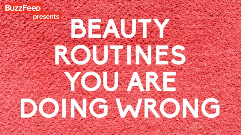 Beauty routines you're doing wrong