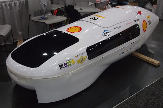 2014 Shell Eco-Marathon University of Waterloo team
