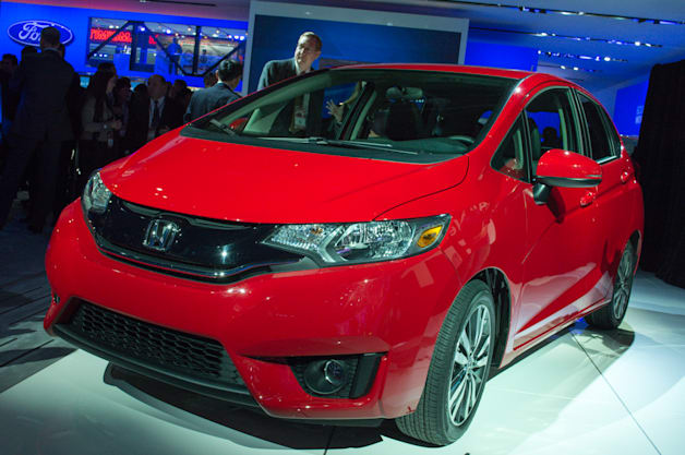 2015 Honda Fit: Detroit 2014