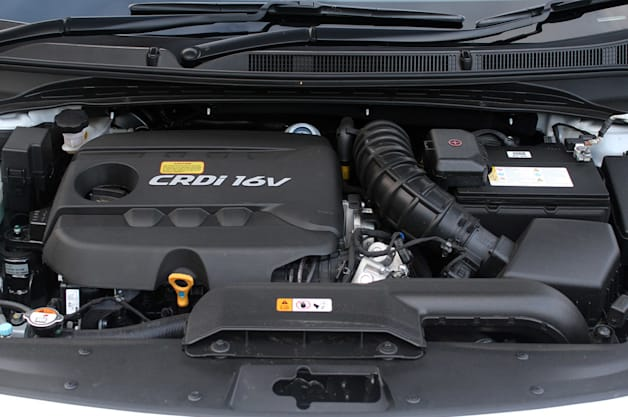 2014 Hyundai i40 Tourer engine