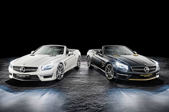 Sondermodell SL63 AMG World Championship 2014 Collector's Edition