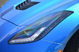 2014 Chevy C7 Corvette Stingray headlight