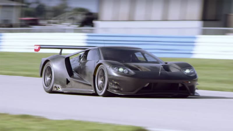 Ford Gt Racer Is The Sound Of Good Things To Come In