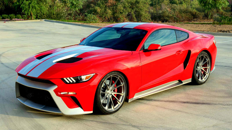 Zero to 60 Designs creates a fusion of Ford GT and Mustang