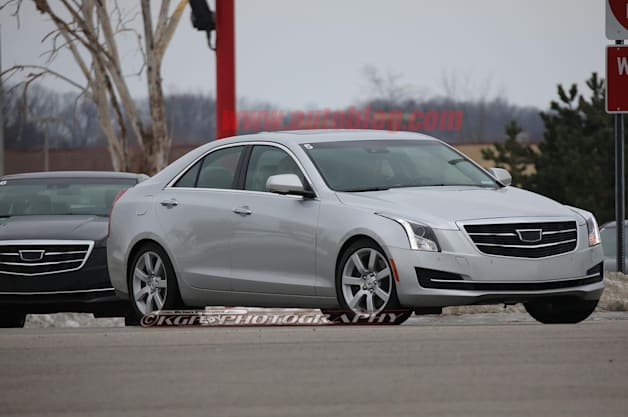 Cadillac ATS Sedan refresh spy shot