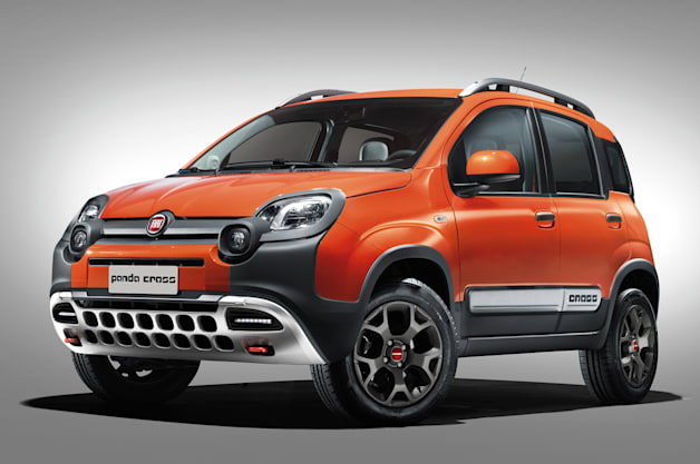 New Fiat Panda Cross looks adorable