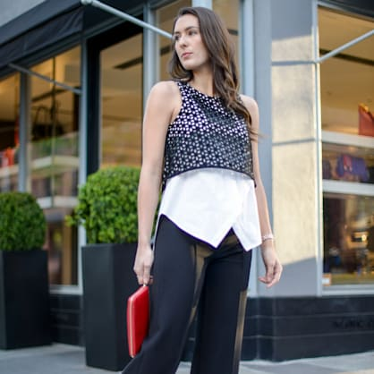 Street style tip of the day: Black and white