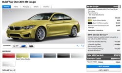 BMW M4 Configurator