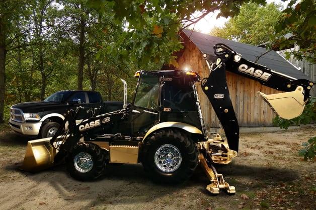 Polaris Slingshot Dealer Las Vegas Nv >> Ram Truck digs in with Laramie Longhorn-inspired Case backhoe