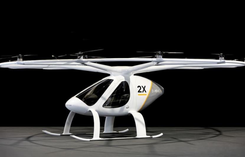 E-Volo Volocopter 2X: Flugtaxi soll nächstes Jahr starten