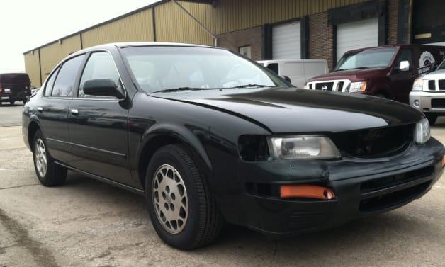 1996 Nissan Maxima restoration